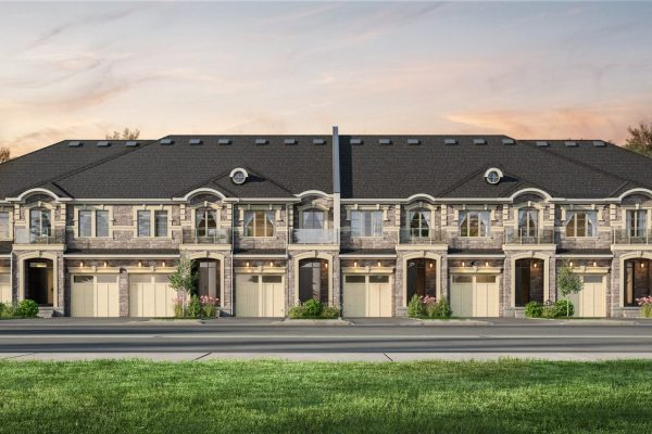 Freehold_Townhouses_Guelph_Dev_8 Unit_Dusk_Final