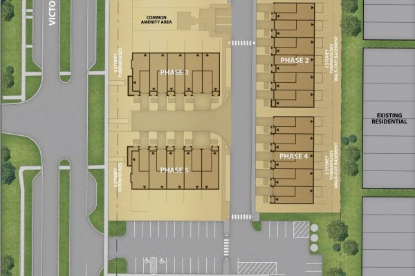 Freehold_Towhouses_671_Victoria_Rd_Phase_2_Siteplan